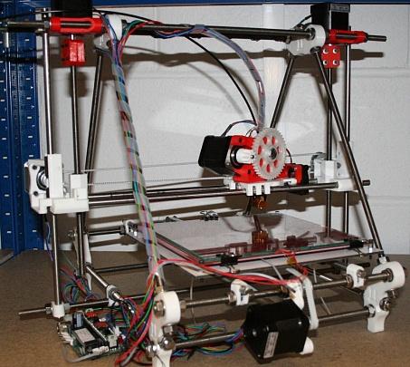 3д принтер мендель 90 из алюминия своими руками