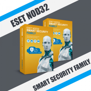 ESET NOD32 Smart Security Family для частных лиц